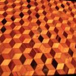 Lixamento de piso de madeira