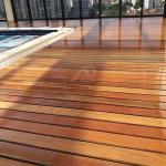 Manutenção piso madeira